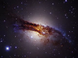 Centaurus a Lenticular Galaxy, Ngc5128 Photographic Print by Robert Gendler
