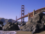 Golden Gate Bridge, Golden Gate National Recreation Area, San Francisco, California, USA Photographic Print by Adam Jones