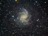 Ngc 6946 Spiral Galaxy in Cepheus Photographic Print by Robert Gendler