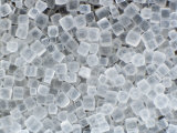 Table Salt Crystals, Sodium Chloride Photographic Print by Bill Beatty