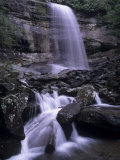 Rainbow Falls, Great Smoky Mountains National Park, Tennessee, USA Photographic Print by Adam Jones