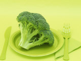 Broccoli Photographic Print by Wally Eberhart