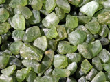 Olivine Variety Peridot Photographic Print by Albert Copley