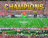 2010 Ohio St. Buckeyes Rose Bowl Champions Celebration Overlay Photo