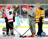 Bobby Orr &amp; Bobby Clarke 2010 Winter Classic Foto