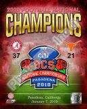 2010 University of Alabama BCS Champions Photo