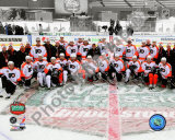The Philadelphia Flyers Team Photo 2010 NHL Winter Classic Photo