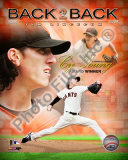 Tim Lincecum 2009 National League Cy Young Award Winner Photo