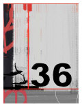Number 36 Poster by  NaxArt
