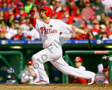Shane Victorino - 2009 NL Championship Series Game 5 Photo