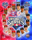 2009 MLB World Series Match Up Philadelphia Phillies Vs. New York Yankees Photo