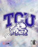 2009 Texas Christian University Team Logo Photo