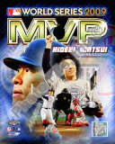 Hideki Matsui 2009 MLB World Series MVP Photo