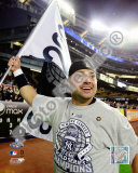 Nick Swisher Game Six of the 2009 MLB World Series Photo