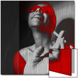 Lachen Kunstdruck von  NaxArt
