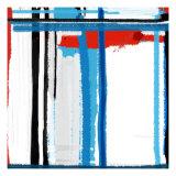 Blue Strokes Kunstdrucke von  NaxArt