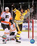 Marco Sturm Game Winning Goal Vertical 2010 NHL Winter Classic Photographie