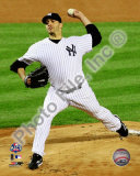 Andy Pettitte Game Six of the 2009 ALCS Photo