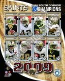 2009 New Orleans Saints NFC South ChampionsTeam Photo
