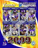2009 Minnesota Vikings NFC West Divison Champions Photo