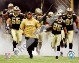 Deuce McAllister & Reggie Bush 2010 Playoff Photo