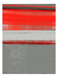 Abstract Red 1 Prints by  NaxArt