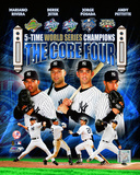 "New York Yankees 2009 ""Core 4"" Foto"