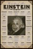 Albert Einstein - Posterler