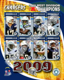 2009 San Digo Chargers AFC West Divison Champions Photo