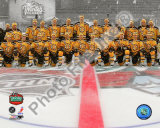 The Boston Bruins Team Photo 2010 NHL Winter Classic Photo