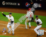 M.Teixeira &amp; M.Rivera Game Six of the 2009 MLB World Series Photo
