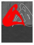 Rote Frau Poster von  NaxArt