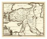 Antiquarian Map III Giclee Print