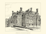 English Architecture II Print by Reginald Blomfield