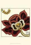 Paprika Floral II Prints by Erica J. Vess