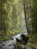 By the Stream Art by Lucie Bilodeau