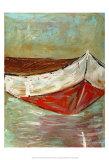 Canoe I Poster by Deann Hebert
