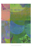 Pastel Quadrants I Kunstdrucke von Ricki Mountain