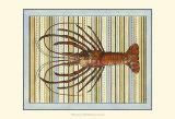 Seashore Lobster Prints
