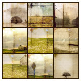 The Underlayers of My Town Giclee Print by Ingrid Blixt