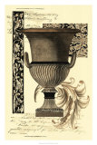 Transitional Sepia Urn II Poster