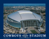 First Inaugural Game, Cowboys Stadium, Arlington, Texas, September 20,2009 Affiches