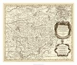 Antiquarian Map I Prints