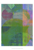 Pastel Quadrants II Prints by Ricki Mountain