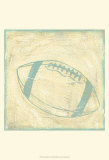 Football Rules Print by Chariklia Zarris