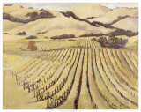 Summer Vineyard Giclee Print by Silvia Rutledge