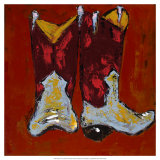 Kickin' it II Giclee Print by Deann Hebert