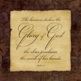 Glory to God Prints by Stephanie Marrott