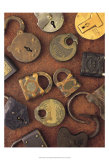 Antique Lock Collage Posters