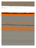 Abstrakt orange 2 Plakater af NaxArt